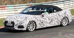 New Audi S5 Cabriolet Sneaks Out To Play With Its 349 Horses #Audi #Audi_A5
