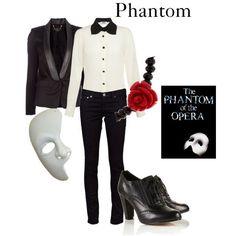 Women's PHANTOM OF THE OPERA DIY costume