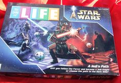 The Game Of Life Star Wars A Jedi's Path Edition Milton Bradley 100% complete..selling now on ebay #Hasbro