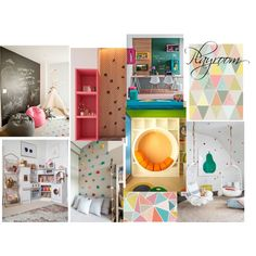 playroomZR by naala-art on Polyvore featuring polyvore, interior, interiors, interior design, home, home decor and interior decorating