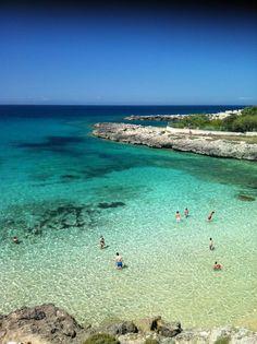 Caribbean? No, Taranto ( Italy), Porto Pirrone beach 6 km from the house