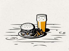 Bierhaus comida medio