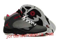 Acheter Chaussures Air Jordan New School Anthracite/Red Rouge-Cool Gris  JordanAeroMania.com