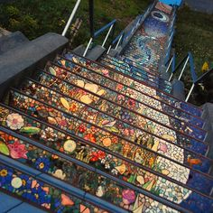 San Francisco Mosaic Stairway