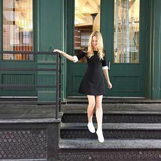 The Camilyn Beth 'Henry' Dress in Black   FW16   Taylor Swift Street Style