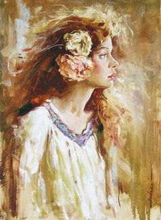 Romantic impressionist painter Andrew Atroshenko (Russian: 1965)  Fab Fiona