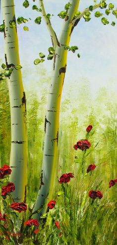 298 Best Painting Trees Images In 2019 Painting Tree