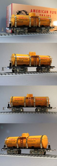 Other Standard Scale 180338: Mth Lionel Corp Tinplate 4010 Std Gauge American Flyer Shell Tank Car 11-30227 -> BUY IT NOW ONLY: $148.84 on eBay!