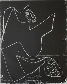 """Le Corbusier (1887-1965) """"série Panurge"""" No 1961/62. 4"""