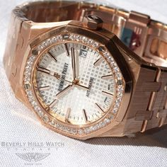 Audemars Piguet Ladies Royal Oak 37mm Rose Gold w/ diamonds #AudemarsPiguet #AP #Luxurywatches #APLadieswatches #AudemarsPiguetLadieswatches #AudemarsPiguetwatches #APwatches #APRoyalOak #AudemarsPiguetRoyalOak #APwomanswatches #AudemarsPiguetwomanswatche