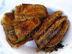 μικρή κουζίνα: Κολοκύθια και μελιτζάνες πανέ στο γκριλ