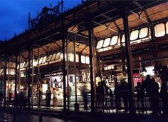 The recently renovated Mercado de San Miguel in Madrid sells everything from brains to bacalao.