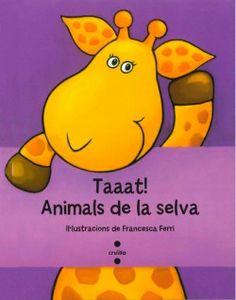 """Aquest llibre convida l'infant a jugar a un joc que potser serà dels primers que aprengui: fer """"Taat!"""". Li agradarà observar les grans il·lustracions de colors vius i es divertirà aixecant les solapes per descobrir els animals de la selva."""