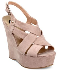 G by Guess Women's Havana Platform Wedge Sandals - Espadrilles & Wedges - Shoes - Macy's