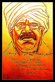 GENOCIDAIRE - Sudan's al-Bashir wanted for war crimes and genocide against its own citizens in Darfur.  Meanwhile the African Union  wants to stop proceedings against sitting Presidents and said it will not compel any member states to arrest a leader on behalf of the court.  #15-24