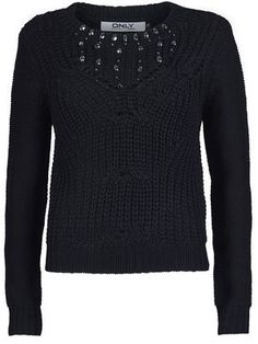KNITTED PULLOVER, Black