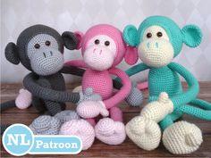 Mike the monkey - Amigurumi Haakpatroon - Nederlandse vertaling op Etsy, 4,48€