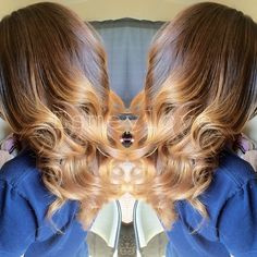 Sweet Toffee Ombre!