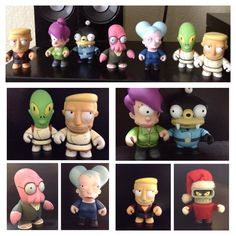 Kidrobot Futurama Customs