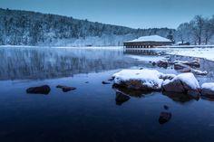 First Snow 2015 Devil's Lake State Park