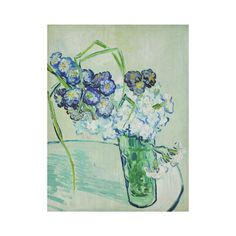Vincent van Gogh Vase of Carnations Cotton Linen Wall Tapestry 60