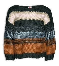 American Outfitters Mohair Boatneck Knit | www.littlesahou.com