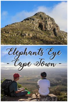 A kid friendly hike to Elephants Eye makes for a stunning family oday out in Cape TOwn, South Africa Elephant Eye, Family Fun Day, Cape Town South Africa, Africa Travel, Places To Travel, Travel Destinations, Elephants, Family Travel, Adventure Travel