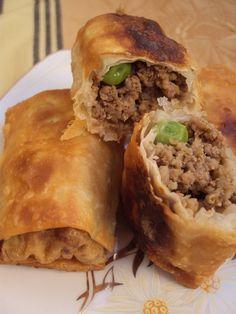Cristina's world: Pachetele cu carne