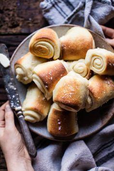 Buttery Parker House Rolls | halfbakedharvest.com @hbharvest