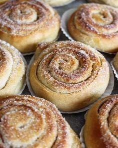 Sweet Pie, Sweet Bread, Pie Dessert, Dessert Recipes, Bakers Gonna Bake, Baked Doughnuts, Bread Bun, Swedish Recipes, Sweet Pastries