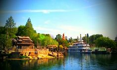 Today from the Rivers of America #Disneyland