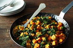 Sweet Potato and Tempeh Hash on Food52: http://food52.com/blog/9153-sweet-potato-tempeh-hash/. #Food52