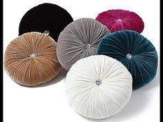 new 2014 round cushion cover velvet cushion pillow capa de almofada preto e branco purple velvet sofa fabric black white pillows