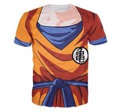 Unicomidea Goku T-shirt Men Women Anime Tee Tops Dragon Ball Z Vegeta  Cartoon Super Saiyan Printed Short Sleeve e8ea4ffc2