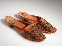 Acquired in 1932 by the American Museum of Natural History Wedding Slippers, Wedding Shoes, Body Adornment, Anthropology, Product Description, Natural History, Egypt, Image, Collection