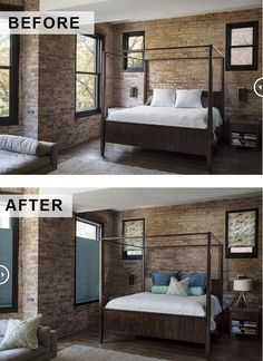 Amazing transformations start with a few simple touches. Updated windows and accessories add color and depth. Smith And Noble, Honeycomb Shades, Amazing Transformations, Design Thinking, Dream Bedroom, Window Treatments, Blinds, Innovation, Bedroom Decor