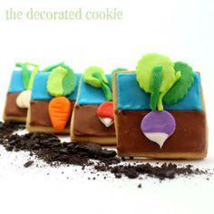 Vegetable Garden Cookies:)