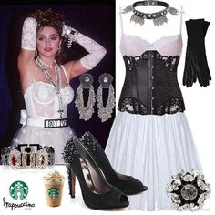 Madonna 80s Fashion Outfits s Fashion Ideas Madonna