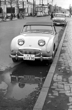 (09-2a)(056-29) 1958-61 Austin Healey Sprite MkⅠ.jpg - LGMSports.com