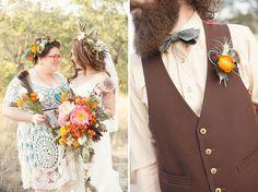 Bohemian Wedding in Texas on Thanksgiving: Ashley + Peter, By Sheri Jentsch, Blumen Meisters