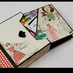 New Paper Phenomenon project!!!Everyday Life Photo Album with Storage/Gift Box using Authentique, Fabulous paper collection.   Click on the link below to purchase the tutorial.   http://shop.paperphenomenon.com/Everyday-Life-Small-Photo-Album-Tutorial-and-Video-Combo-tutvid0136.htm