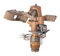 RainBird Brass Impact Sprinkler 42' - 51',$34.99