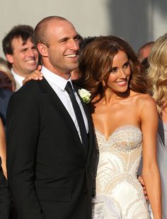 Chris Judd & Rebecca Twigley Wed In Melbourne
