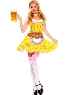 Sexy Hoffbrau Lady Oktoberfest Costume p.