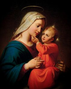 Blessed Mother Mary, Divine Mother, Blessed Virgin Mary, Jesus Mother, Mother Mary Images, Images Of Mary, Catholic Art, Religious Art, Mama Mary