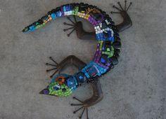 Gecko   Mosaic artist: Terry Oshrin