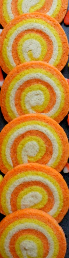 🎃 Candy Corn Swirl Cookies ~ Simple and delicious