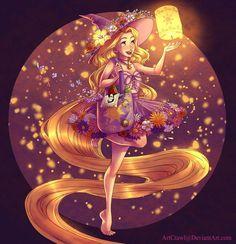 Artista transforma princesas da Disney em bruxas!