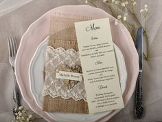 MENU  MENU   #4lovepolkadots #rusticwedding #rusticinvitation #burlap #lace #weddingideas #weddingstyle #invitation #invitations #forestwedding #ecowedding #bridetobe #bridal #marriage #love #whiteday #weddings #lovebirds #boho #ecopaper #forest #letters #marriage #rusticstyle #burlap #lace #rustic #menu #weddingparty