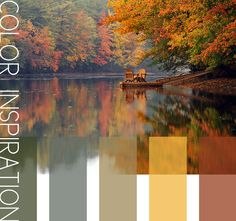 I love the colors of fall... Pretty much my goal for my home.